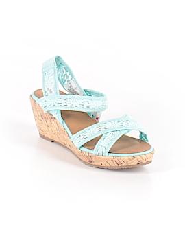 Justice Sandals Size 4