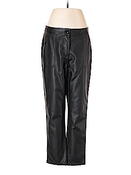 Topshop Faux Leather Pants Size 8