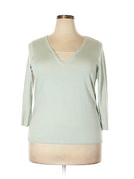 Ralph by Ralph Lauren Silk Pullover Sweater Size 1X (Plus)