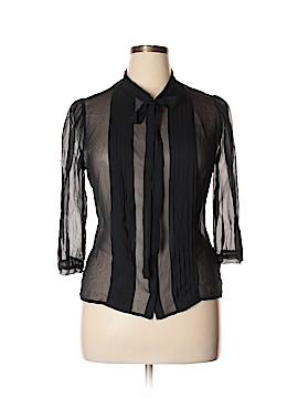 BB Dakota 3/4 Sleeve Silk Top Size L