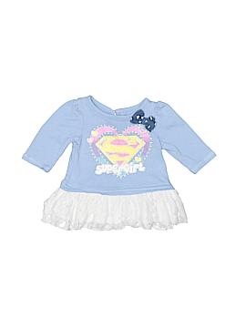 Super Girl 3/4 Sleeve Top Size 0-3 mo