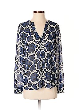 INC International Concepts Long Sleeve Blouse Size 2