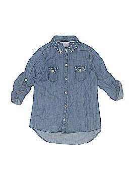 Japna Kids Long Sleeve Button-Down Shirt Size 18