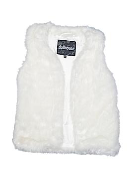 Dollhouse Faux Fur Vest Size 10 - 12