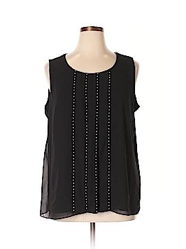 Calvin Klein Sleeveless Blouse Size 1X (Plus)