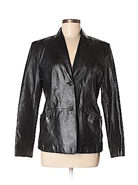 Classiques Entier Leather Jacket Size 8