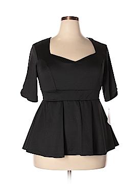 Kiyonna Short Sleeve Top Size 1 (Plus)