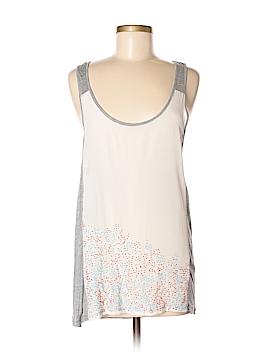 Petticoat Alley Sleeveless Silk Top Size M