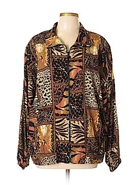 Erin London Silk Cardigan Size XL