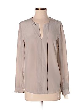 Anne Klein Long Sleeve Silk Top Size 4