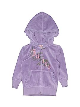 Juicy Couture Fleece Jacket Size 2