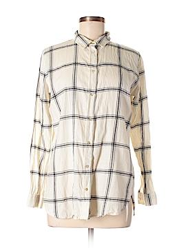 H&M Long Sleeve Button-Down Shirt Size 6