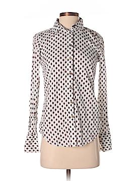Tommy Hilfiger Long Sleeve Button-Down Shirt Size XS (Petite)
