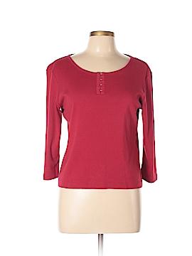 Charter Club 3/4 Sleeve T-Shirt Size L