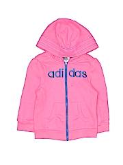 Adidas Girls Zip Up Hoodie Size 2