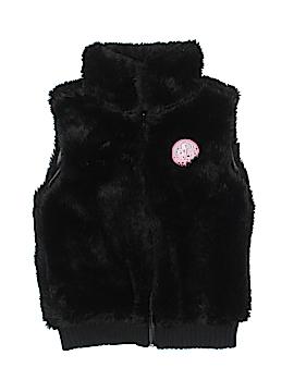 Girl Connection Faux Fur Vest Size 6 - 6X