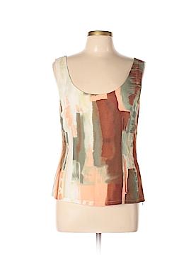 Linda Allard Ellen Tracy Sleeveless Silk Top Size 10