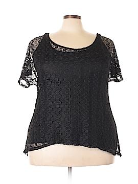 Lavish Short Sleeve Blouse Size 2X (Plus)