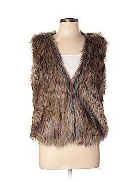 Bliss Faux Fur Vest Size L