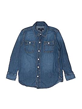 Gap Kids Outlet Long Sleeve Button-Down Shirt Size S (Kids)