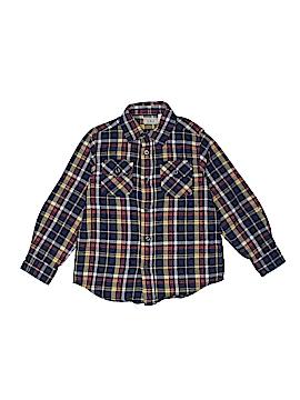 L.L.Bean Long Sleeve Button-Down Shirt Size 6 - 7
