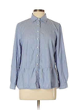 Joy Joy Long Sleeve Button-Down Shirt Size L