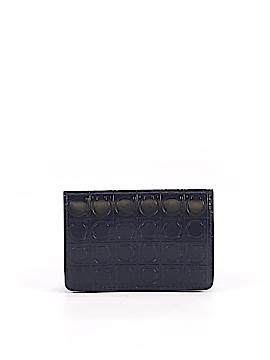 Salvatore Ferragamo Leather Card Holder One Size