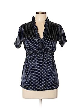 Dizzy Lizzy Short Sleeve Blouse Size L
