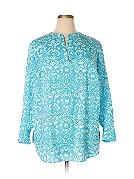 Lauren by Ralph Lauren Long Sleeve Blouse Size 1X (Plus)