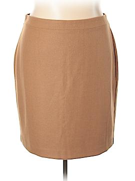 J. Crew Factory Store Wool Skirt Size 20 (Plus)