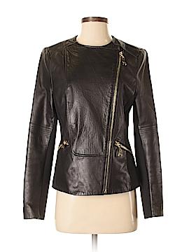 Via Spiga Leather Jacket Size S