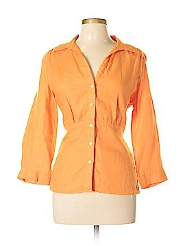 Talbots 3/4 Sleeve Button-Down Shirt Size 16