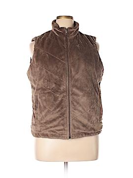 Columbia Faux Fur Vest Size XL