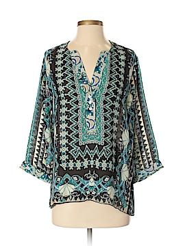 I. Madeline 3/4 Sleeve Blouse Size S