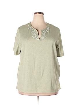 Cathy Daniels Short Sleeve T-Shirt Size 2X (Plus)