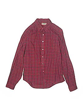 L.L.Bean Long Sleeve Button-Down Shirt Size 14