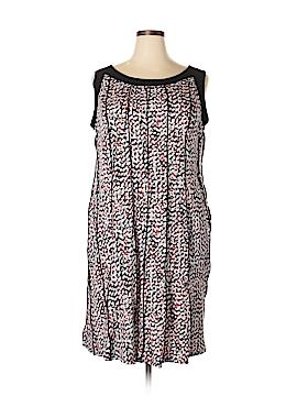 Perceptions Casual Dress Size 2X (Plus)