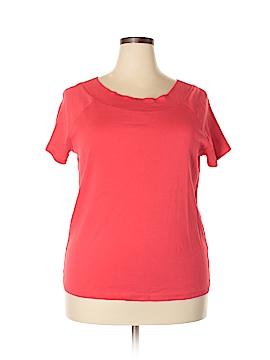 Jones New York Sport Short Sleeve T-Shirt Size 2X (Plus)