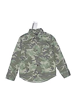 Next Long Sleeve Button-Down Shirt Size 4 - 5