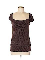 Tempted Women Short Sleeve Blouse Size M