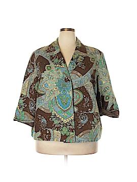 Silkland Silk Blazer Size 2X (Plus)