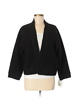 August Silk Wool Cardigan Size L