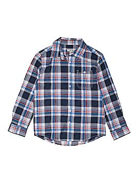 Cherokee Long Sleeve Button-Down Shirt Size 10