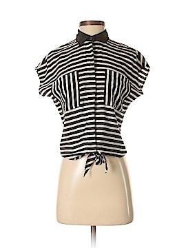 C. Wonder Short Sleeve Silk Top Size XXS