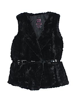 Faded Glory Faux Fur Vest Size 5