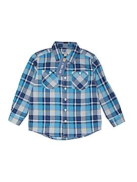Cherokee Long Sleeve Button-Down Shirt Size 7