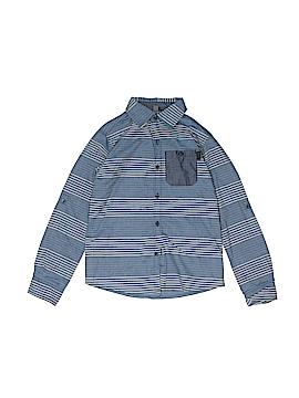 DKNY Long Sleeve Button-Down Shirt Size 7