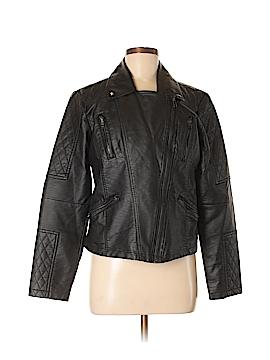 Decree Faux Leather Jacket Size XL