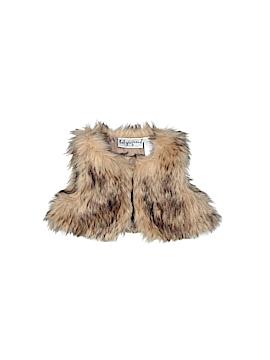 Baby Rageous Faux Fur Vest Newborn