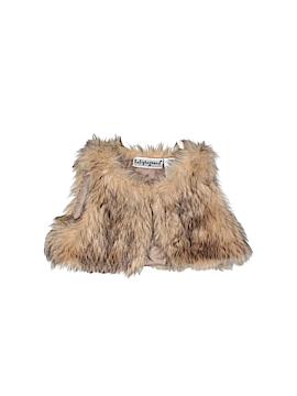 Baby Rageous Faux Fur Vest Size 3 mo